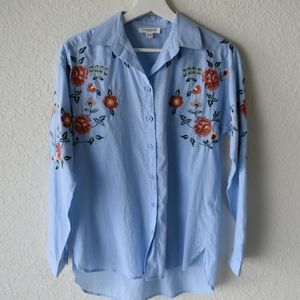 BeachLunchLounge Collection embroidered shirt